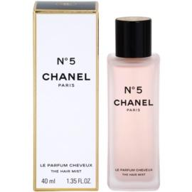 Chanel No.5 zapach do włosów dla kobiet 40 ml