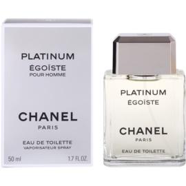 Chanel Egoiste Platinum Eau de Toilette für Herren 50 ml