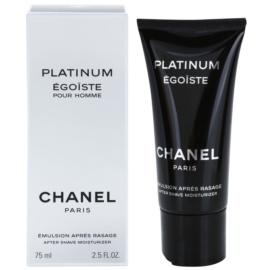Chanel Egoiste Platinum emulsja po goleniu dla mężczyzn 75 ml