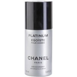 Chanel Egoiste Platinum deospray pro muže 100 ml