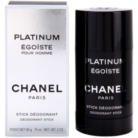 Chanel Egoiste Platinum deostick pro muže 75 ml