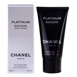 Chanel Egoiste Platinum żel pod prysznic dla mężczyzn 150 ml