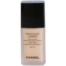 Chanel Perfection Lumiére maquillaje líquido para un look perfecto  tono 40 Beige  30 ml