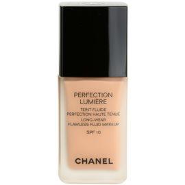 Chanel Perfection Lumiére maquillaje líquido para un look perfecto  tono 42 Beige Rose  30 ml