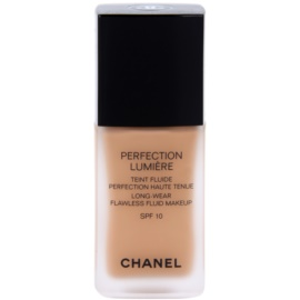 Chanel Perfection Lumiére maquillaje líquido para un look perfecto  tono 80 Beige  30 ml