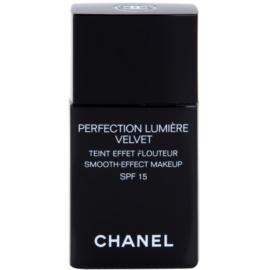 Chanel Perfection Lumiére Velvet aksamitny podkład matujące odcień 40 Beige SPF 15  30 ml
