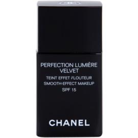 Chanel Perfection Lumiére Velvet sametový make-up pro matný vzhled odstín 10 Beige SPF 15  30 ml