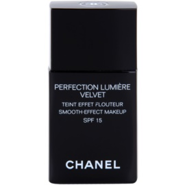 Chanel Perfection Lumiére Velvet aksamitny podkład matujące odcień 10 Beige SPF 15  30 ml