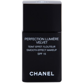 Chanel Perfection Lumiére Velvet sametový make-up pro matný vzhled odstín 20 Beige SPF 15  30 ml
