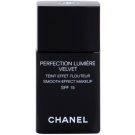 Chanel Perfection Lumiére Velvet aksamitny podkład matujące odcień 20 Beige SPF 15  30 ml