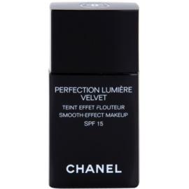Chanel Perfection Lumiére Velvet sametový make-up pro matný vzhled odstín 22 Beige Rosé SPF 15  30 ml