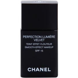 Chanel Perfection Lumiére Velvet sametový make-up pro matný vzhled odstín 30 Beige SPF 15  30 ml