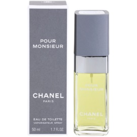 Chanel Pour Monsieur Eau de Toilette para homens 50 ml