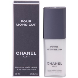 Chanel Pour Monsieur emulze po holení pro muže 75 ml