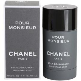 Chanel Pour Monsieur desodorizante em stick para homens 75 ml