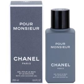 Chanel Pour Monsieur tusfürdő férfiaknak 200 ml