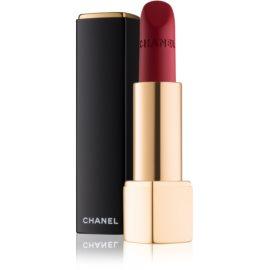 Chanel Rouge Allure Velvet ruj de buze catifelant cu efect matifiant culoare 58 Rouge Vie  3,5 g