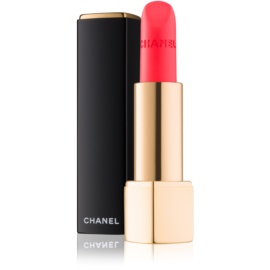 Chanel Rouge Allure Velvet barra de labios con textura de terciopelo con efecto mate tono 60 Rouge Troublant  3,5 g