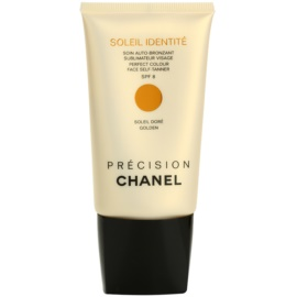 Chanel Précision Soleil Identité samoopalający krem  do twarzy SPF 8 odcień Golden  50 ml