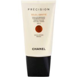 Chanel Précision Soleil Identité crema autobronzanta pentru fata SPF 8 culoare Bronze  50 ml