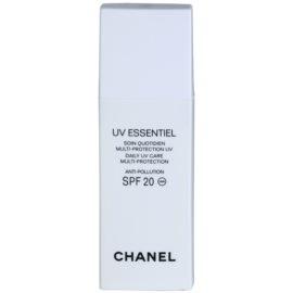 Chanel UV Essentiel opalovací mléko na obličej SPF 20  30 ml