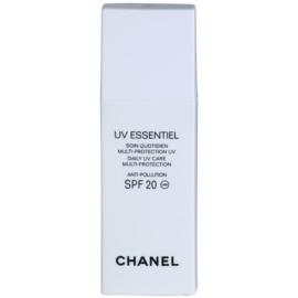 Chanel UV Essentiel naptej az egész arcra SPF 20  30 ml