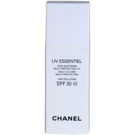 Chanel UV Essentiel opalovací mléko na obličej SPF 30  30 ml