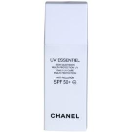 Chanel UV Essentiel opalovací mléko na obličej SPF 50+  30 ml