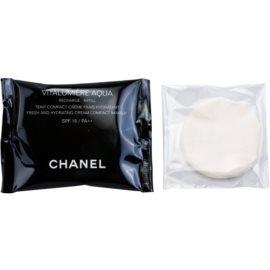 Chanel Vitalumiére Aqua зволожуючий тональний крем для безконтактного дозатора  відтінок 22 Beige Rose  12 гр