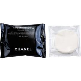 Chanel Vitalumiére Aqua hydratační krémový make-up náhradní náplň odstín 22 Beige Rose  12 g
