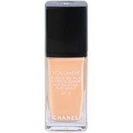 Chanel Vitalumiere tekutý make-up odstín 25 Pétale  30 ml