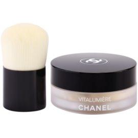 Chanel Vitalumiere pudra cu pensula culoare 10 SPF 15 10 g
