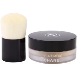 Chanel Vitalumiere pudra cu pensula culoare 30 SPF 15 10 g