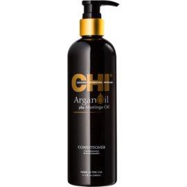 CHI Argan Oil поживний кондиціонер для сухого або пошкодженого волосся без парабенів  340 мл