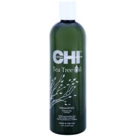 CHI Tea Tree Oil sampon pentru par si scalp gras  340 ml