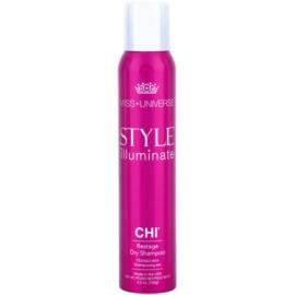 CHI Style Illuminate Miss Universe suchý šampon pro absorpci přebytečného mazu a pro osvěžení vlasů  150 ml