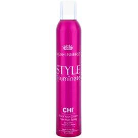 CHI Style Illuminate Miss Universe spray para dar definición al peinado de secado rápido fijación fuerte  284 g