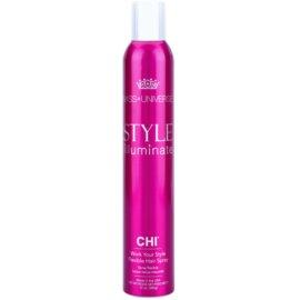 CHI Style Illuminate Miss Universe gyorsan száradó spray a hajformázáshoz rugalmas tartás  340 g