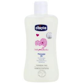 Chicco Baby Moments Care masážny olej pre deti od narodenia  200 ml