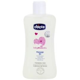 Chicco Baby Moments Care Massageöl für Kinder ab der Geburt  200 ml