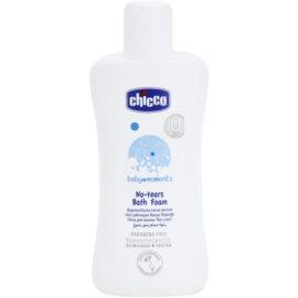 Chicco Baby Moments Wash pěna do koupele pro děti od narození  200 ml