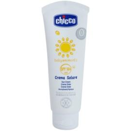 Chicco Baby Moments Sun захисний крем для дітей від народження SPF 50+  75 мл