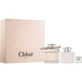 Chloé Chloé dárková sada I. parfémovaná voda 75 ml + parfémovaná voda 5 ml + tělové mléko 100 ml