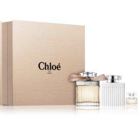 Chloé Chloé dárková sada VII.  parfémovaná voda 75 ml + tělové mléko 100 ml + parfémovaná voda 5 ml