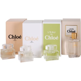 Chloé Mini Geschenkset II. Eau de Parfum 5 ml + Eau de Toilette 5 ml + Eau de Toilette 5 ml + Eau de Toilette 5 ml