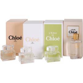 Chloé Mini dárková sada II. parfémovaná voda 5 ml + toaletní voda 5 ml + toaletní voda 5 ml + toaletní voda 5 ml