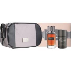 Chopard Rose Malaki ajándékszett I.  Eau de Parfum 80 ml + stift dezodor 75 ml + kozmetikai táska