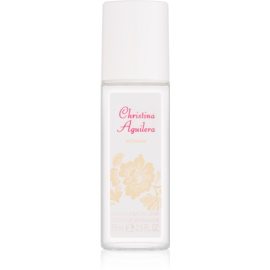 Christina Aguilera Woman deodorante con diffusore per donna 75 ml