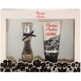 Christina Aguilera Christina Aguilera lote de regalo II.  eau de parfum 15 ml + gel de ducha 50 ml