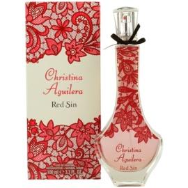 Christina Aguilera Red Sin parfumska voda za ženske 100 ml
